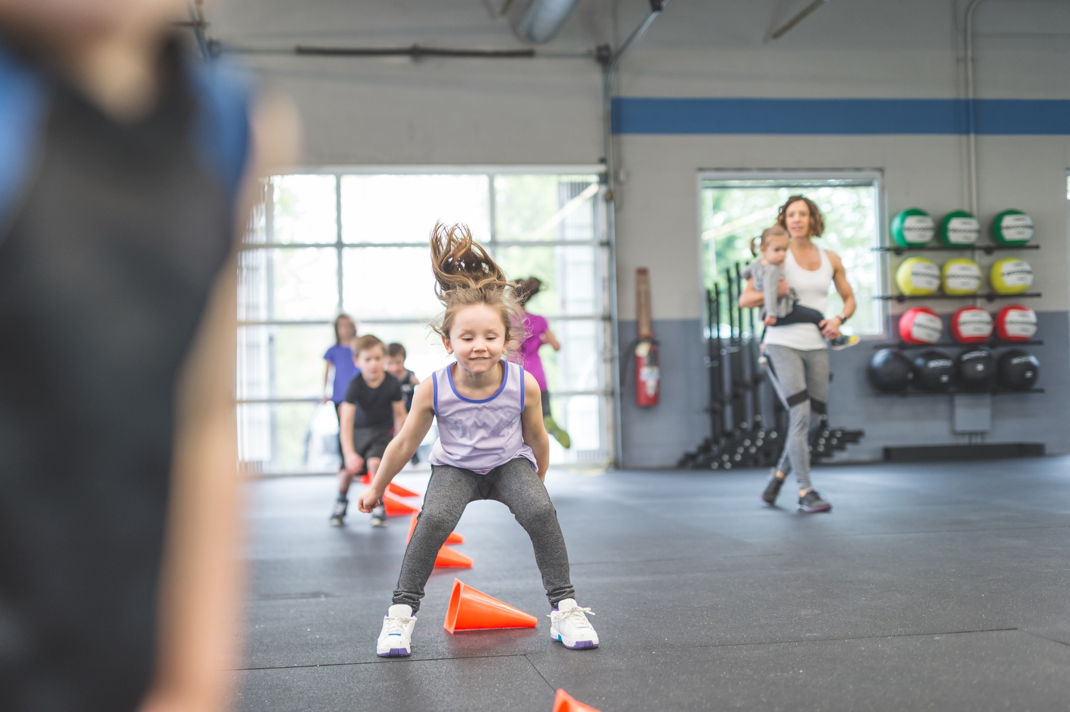 Kids Camp Fitness Center Exercise