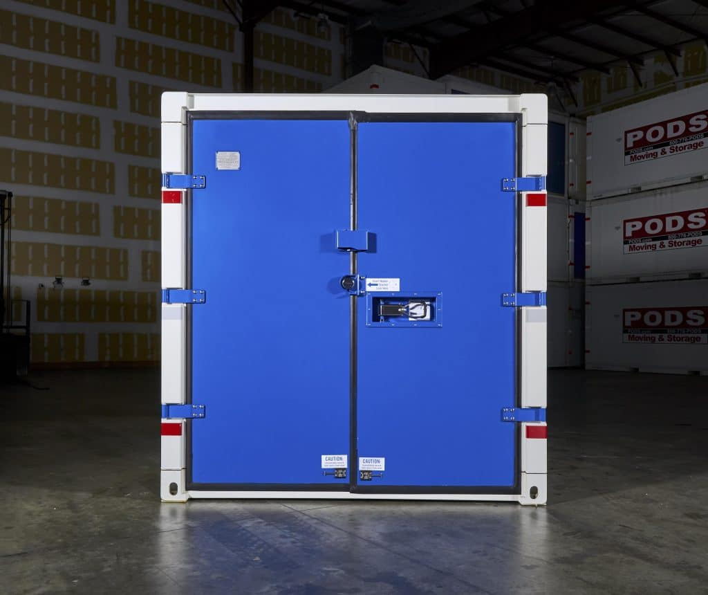 PODS for Business Commercial Container Secure Storage Doors