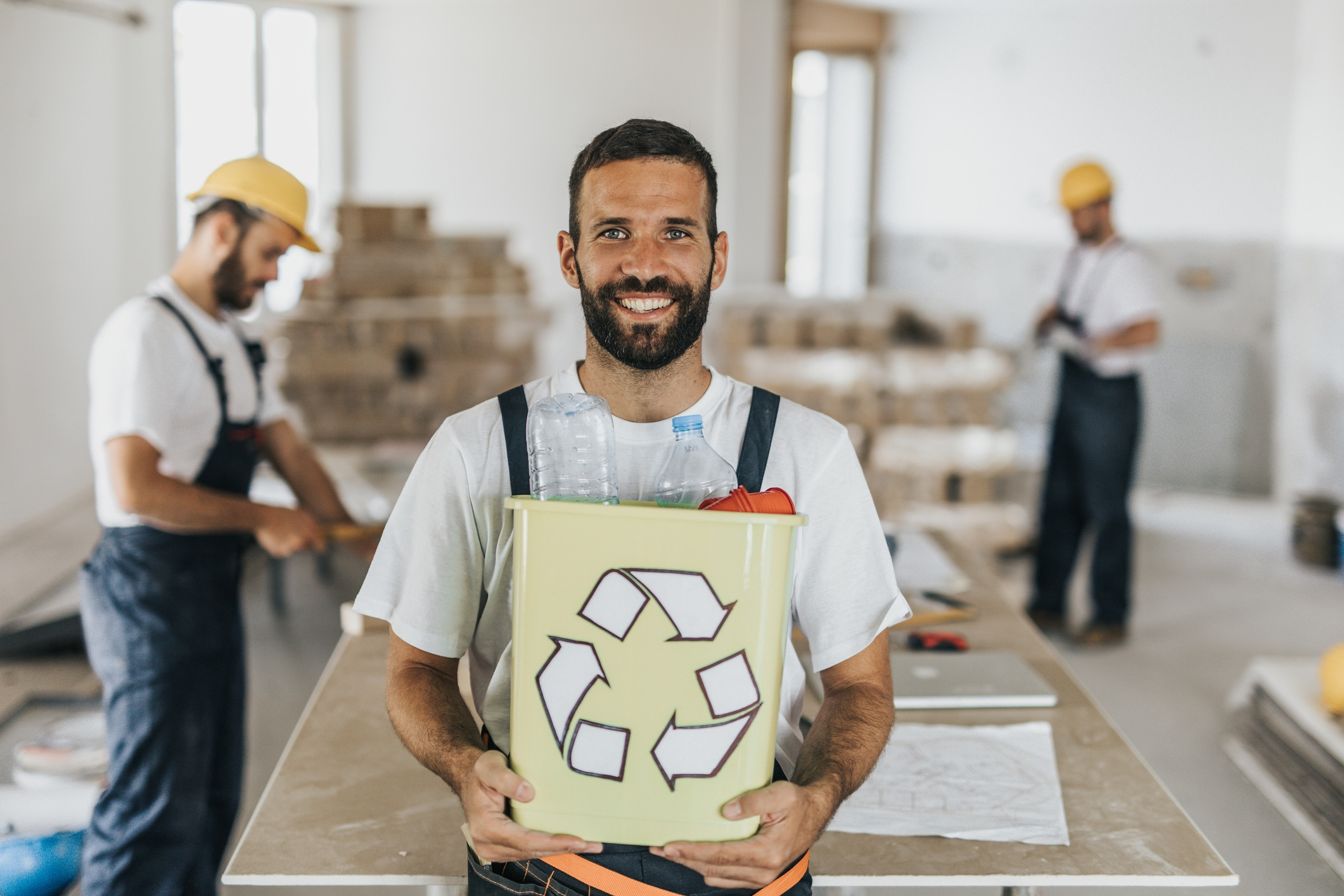 Construction recycling manager